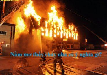 Gặp cháy nhà đánh đề con gì, số mấy?