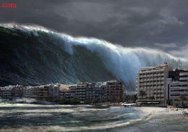 Nằm mơ thấy sóng thần là điềm gì, đánh đề con gì?