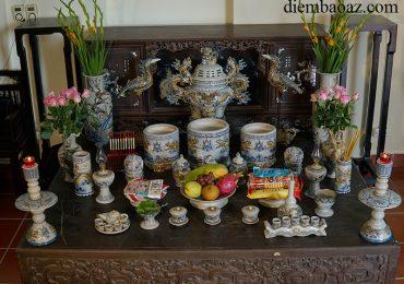 Vị trí và Cách đặt 3 bát hương trên bàn thờ như thế nào có Lộc