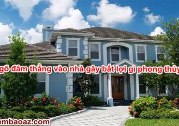 Ngõ đâm thẳng vào nhà gây bất lợi gì phong thủy? Làm sao khắc phục